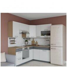 Kampinė virtuvė 195 x 150cm