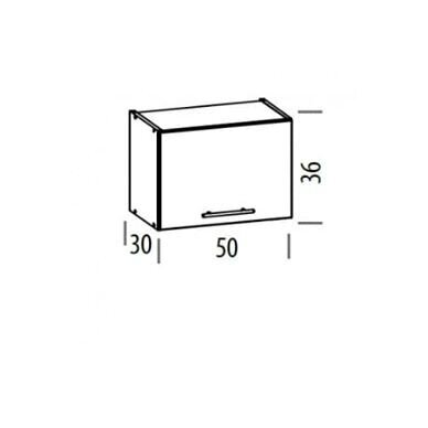 Virtuvės baldų kompektas 230cm 7