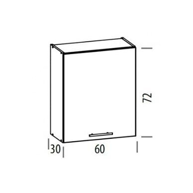 Virtuvės baldų kompektas 230cm 8